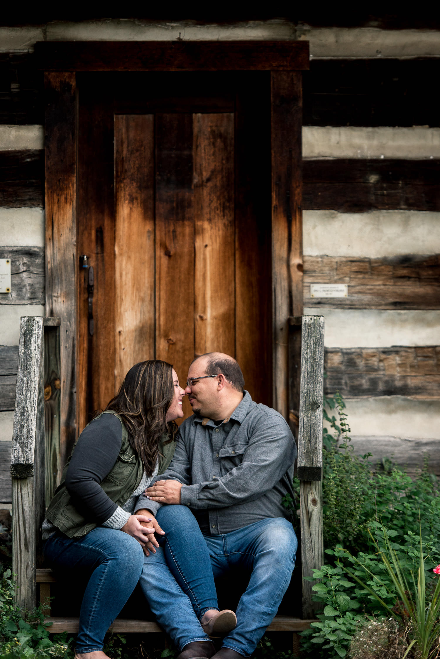 fun engagement session in Maryland