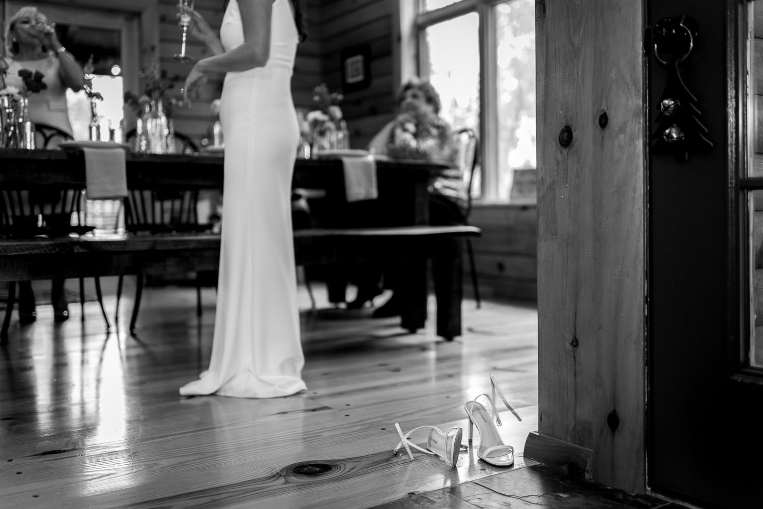 wedding toasts for Deep Creek LAke elopement