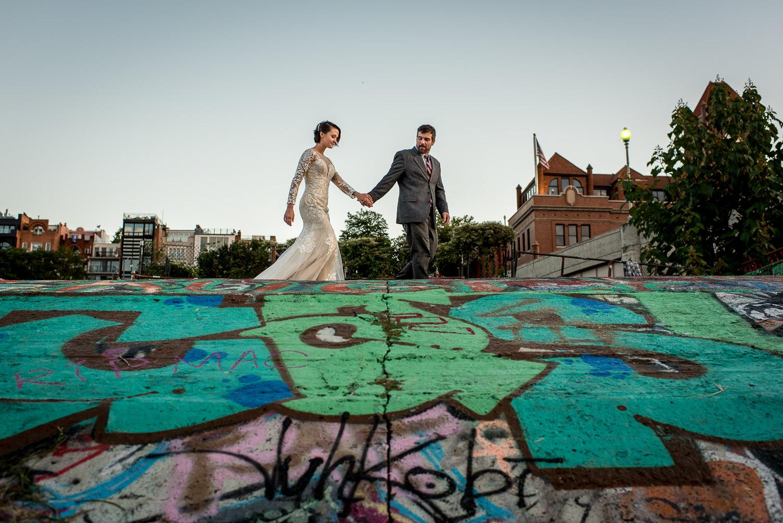 wedding portrait in Washington DC